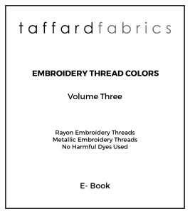 Embroidery thread books V3-01